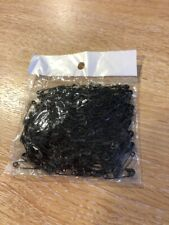 packet of 190 small black safety pins