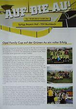 Programma 2012/13 SpVgg Bayern Hof-TSV libro Bach