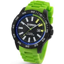 TW Steel Yamaha Factory Racing 45mm Green Strap Watch Y10