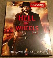 Hell On Wheels: Season 1 Blu-ray, Brand-New Factory Sealed!