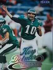 NFL 158 Koy Detmer Philadelphia Eagles Fleer Ultra 1999