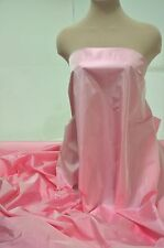 "IRIDESCENT TAFFETA FABRIC CANDY PINK 60"" BY THE YARD, FORMAL, BRIDESMAID, FLOWER"