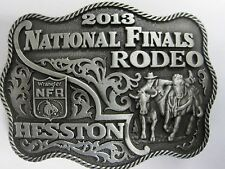 National Finals Rodeo Hesston 2013 NFR Youth (Small) Cowboy Buckle New Wrangler