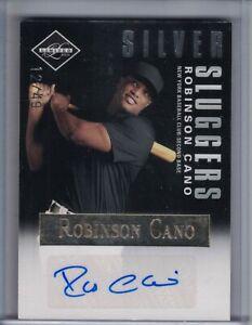 ROBINSON CANO 2011 Limited Silver Sluggers Signatures Auto/Autograph /49 ⚾F7904⚾