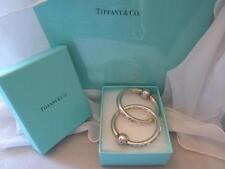 Tiffany & Co. Sterling Silver Double Ring Baby Rattle