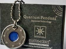 Quantum Pendant Aura Necklace MGI Scalar Energi Health Original Germanium Stone