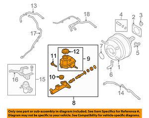 HYUNDAI OEM 10-15 Genesis Coupe-Brake Master Cylinder 585102M500