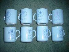 8ea Lady Love Blue Mugs made in England