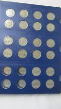 Lot 19 Wartime Jefferson Nickels 35% Silver + 54 Buffalo nickels Full & Partial