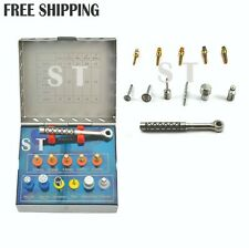 Dental Bone Expander Sinus Lift Kit With Saw Disk Dental Implant Instrument
