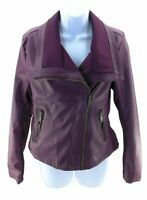 Therapy Jacket Womens Size Medium Purple Front Zipper MSRP $59.99