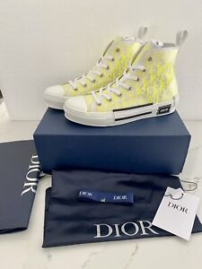 CHRISTIAN DIOR B23 High TOP SHOES SIZE 43 *NEW WITH BOX* US10 Authentic