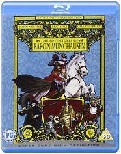 THE ADVENTURES OF BARON MUNCHAUSEN - BLU-RAY - REGION B UK