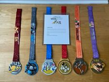 Run Disney Marathon Weekend 2021 Dopey Challenge Medals Complete Set - NEW