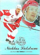 2014-15 Fleer Showcase Flair #45 Nicklas Lidstrom R1