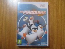 Les Pingouins de Madagascar ~~ Jeu WII Neuf