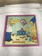 Vintage 1990 Milton Bradley New Sealed The Simpsons 250 Piece Jigsaw Puzzle