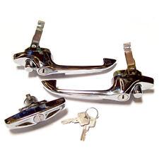 Mini Classic Cromo Porta & Bagagliaio Set Maniglia MK3 > CZH1785 Austin Morris
