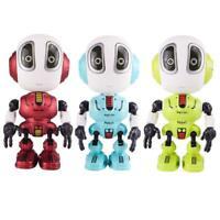 Smart Talking Robot DIY Gesture Electronic Doll Toy LED Intelligent Robot Alloy