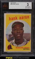 1959 Topps Hank Aaron #380 BVG 3 VG