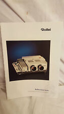 Broschüre Prospekt Werbeflyer Rollei Rolleivision Twin Projektor