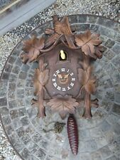 Antique Medium Size Cuckoo Clock For Restoration, No Pendulum, Only One Weight
