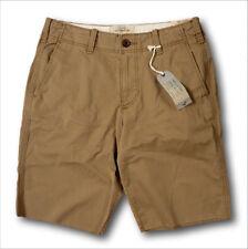 NWT Hollister by Abercrombie Men's Cali Longboard Fit Shorts Cotton Flex Khaki
