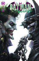 Batman Who Laughs 6 Francesco Mattina Trade Variant Joker Dark Nights Metal