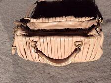 Miu Miu Matelasse Handtasche pink rose Umhängetasche Handbag Leder Gold Nieten