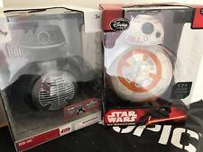 Disney Store Star Wars Droids BB-9E & BB-8 talking action figure