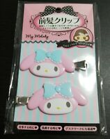 SANRIO My Melody love Cute hair clip accessory relief item 2 pieces set