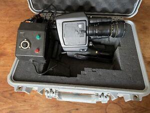 Vintage Beaulieu 5008-S Super 8 Film Camera W/ Original Charger And Pelican Case