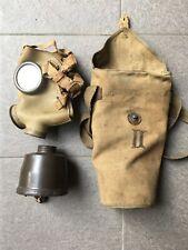 Maschera antigas italiana T35 REI Regio Esercito RSI Alpini Ww2 coloniale filtro