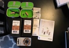 New!  2each Phonak Audeo V90 312 Hearing Aid Kit With 126-ea Batteries.