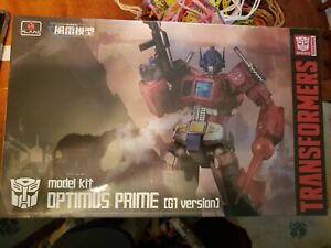 Flame Toys Furai 12 Transformers Optimus Prime G1 version Model figure