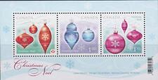 Canada 2010 Souvenir Sheet 2411 Christmas Ornaments MNH