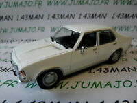 PL62H VOITURE 1/43 IXO IST déagostini POLOGNE : OPEL REKORD D blanche