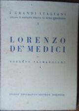 Lorenzo De' Medici - Roberto Palmarocchi - UTET,1940 - R