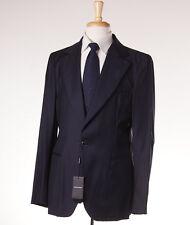 NWT $2895 ARMANI BLACK LABEL Lightweight Wool-Cashmere Sport Coat Slim 42 R Navy