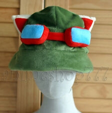 LOL league of legends Teemo Cosplay Hat Army Green New Free Shipping