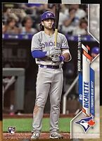 2020 Topps Update Series Bo Bichette #U-1 RC Toronto Blue Jays Rookie Card