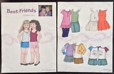 Best Friends Paper Doll by Diana Vining, Mag. Pd. 2013