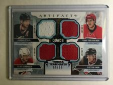 2016-17 UD ARTIFACTS - QUADS JERSEY TUNDRA TEAMMATES Hurricanes /99