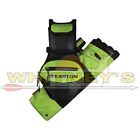 Easton Flipside, 4 Tube Hip Quiver W/Belt - Flo GREEN-026868