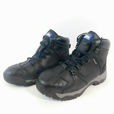 Himalayan 5206 S3 SRC Black Leather Steel Toe Cap Waterproof Boots 11/EU46 AL/JP