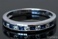 Sapphire 18k Wedding & Anniversary Bands