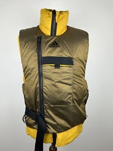 Adidas Down Fill Cold.RDY Double Layer Puffer Vest Size Medium