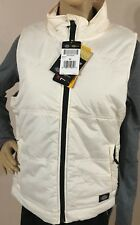 Women's Dickies High Performance Quilted Vest Antique White Size Medium NWT