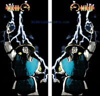 Mortal Kombat 2 side art