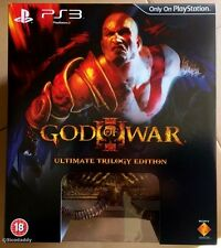 PS3 God of War Ultimate Trilogy Edition (2010) UK Pal, NEW & FACTORY SEALED